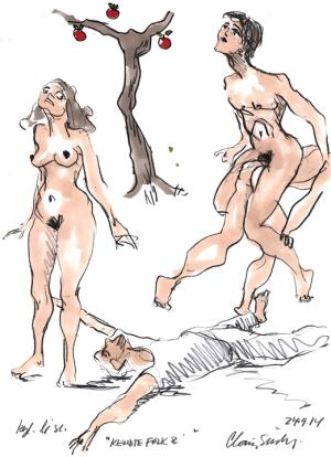 Adam og Eva swinger klub hvad er kusse
