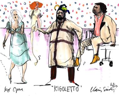'Rigoletto' Operaen 10.9. 2017